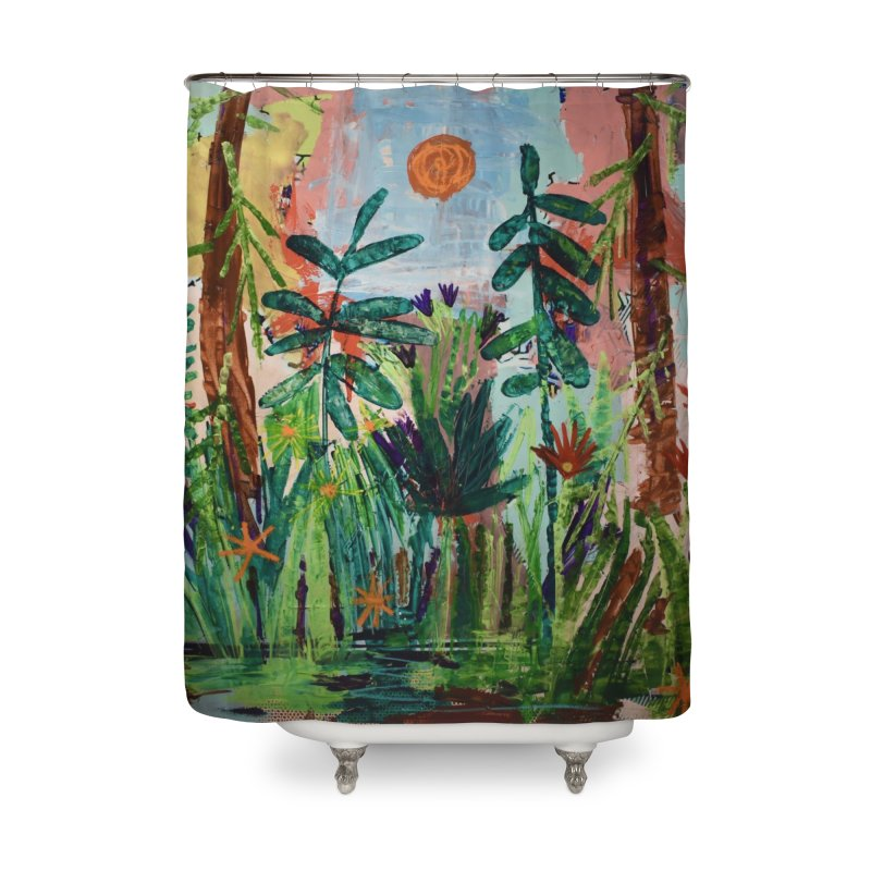 The bravest of hearts grew from here. Home Shower Curtain by stobo's Artist Shop