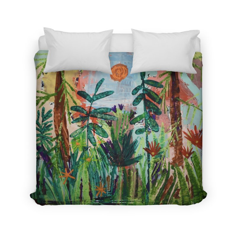 The bravest of hearts grew from here. Home Duvet by stobo's Artist Shop
