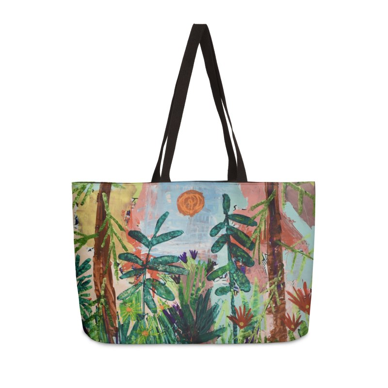 The bravest of hearts grew from here. Accessories Weekender Bag Bag by stobo's Artist Shop