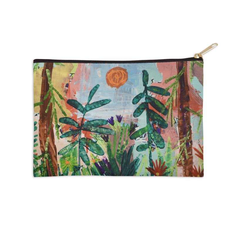 The bravest of hearts grew from here. Accessories Zip Pouch by stobo's Artist Shop