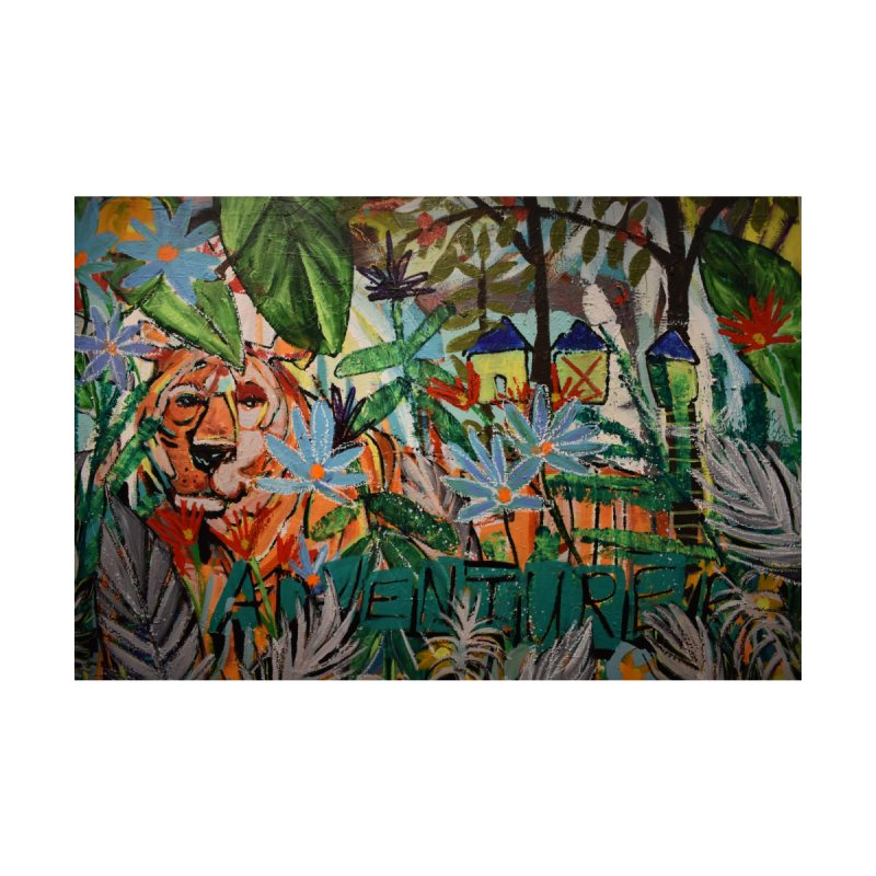 Adventure Tiger by stobo's Artist Shop