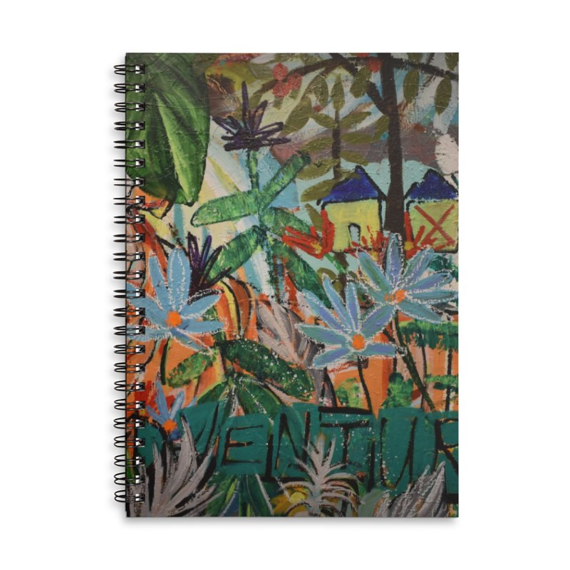 Adventure Tiger Accessories Lined Spiral Notebook by stobo's Artist Shop