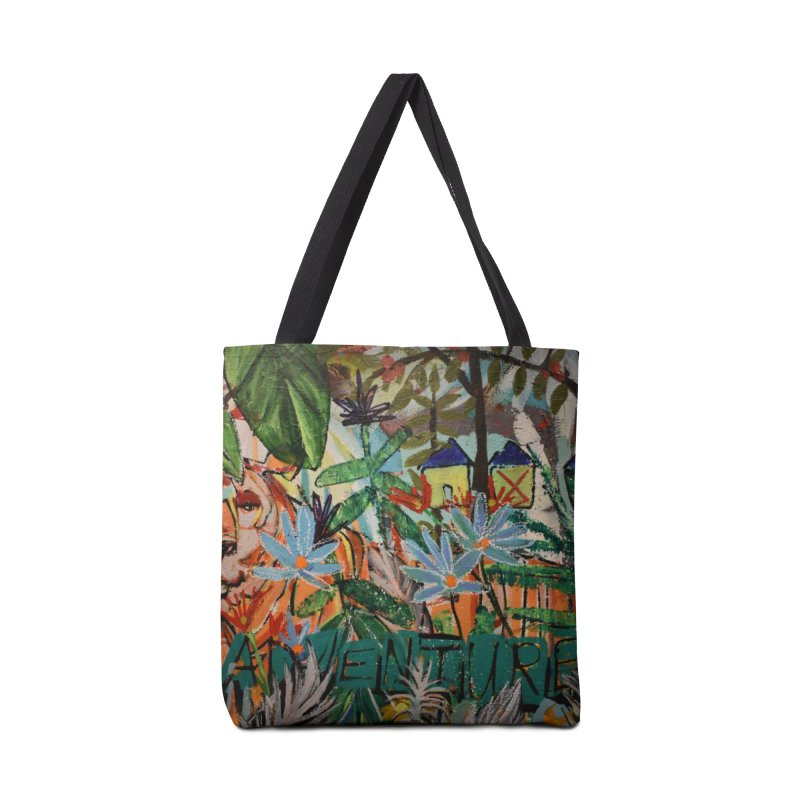 Adventure Tiger Accessories Tote Bag Bag by stobo's Artist Shop