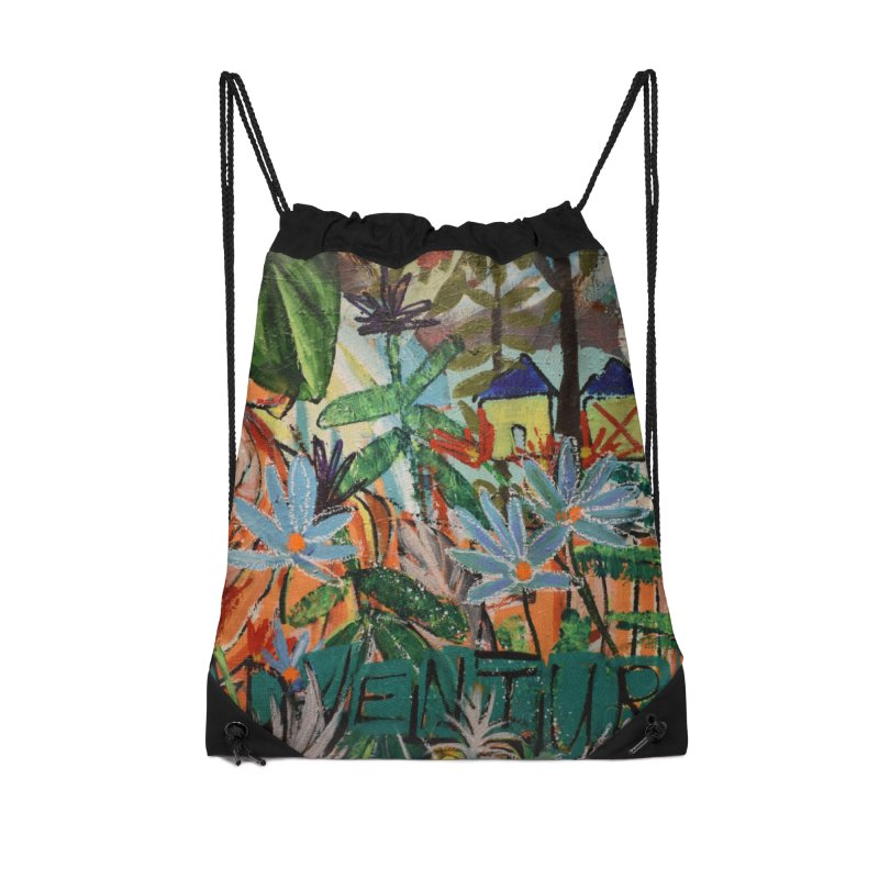 Adventure Tiger Accessories Drawstring Bag Bag by stobo's Artist Shop