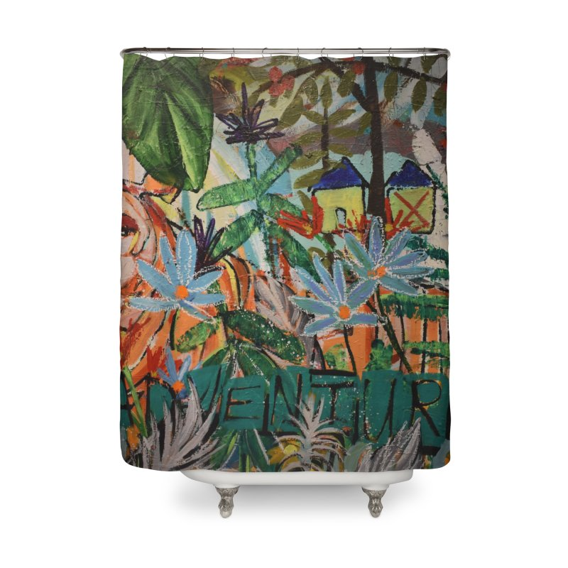 Adventure Tiger Home Shower Curtain by stobo's Artist Shop