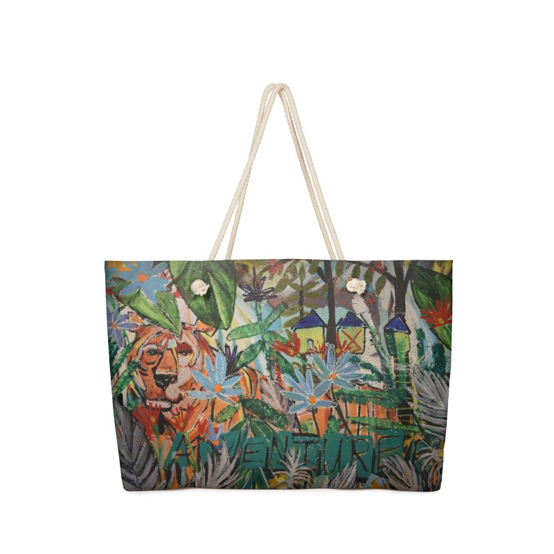 Adventure Tiger Accessories Bag by stobo's Artist Shop