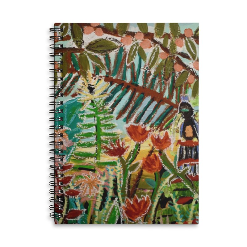The weeds turned into flowers Accessories Notebook by stobo's Artist Shop