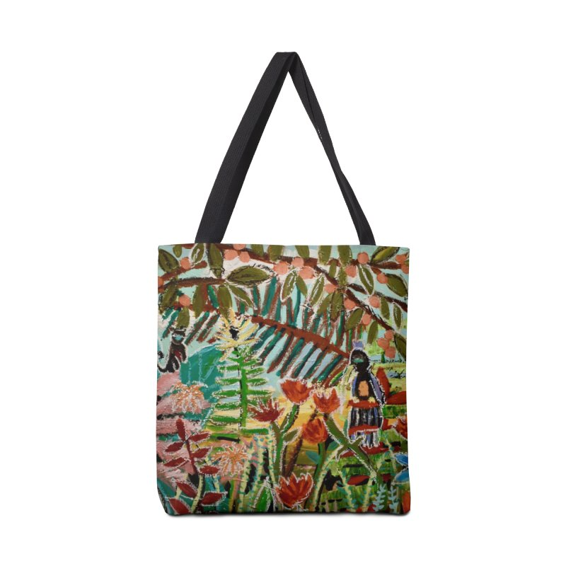The weeds turned into flowers Accessories Tote Bag Bag by stobo's Artist Shop