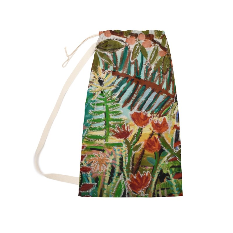 The weeds turned into flowers Accessories Laundry Bag Bag by stobo's Artist Shop