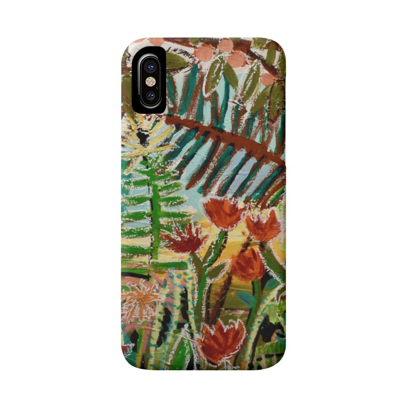 The weeds turned into flowers Accessories Phone Case by stobo's Artist Shop