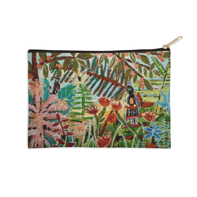The weeds turned into flowers Accessories Zip Pouch by stobo's Artist Shop