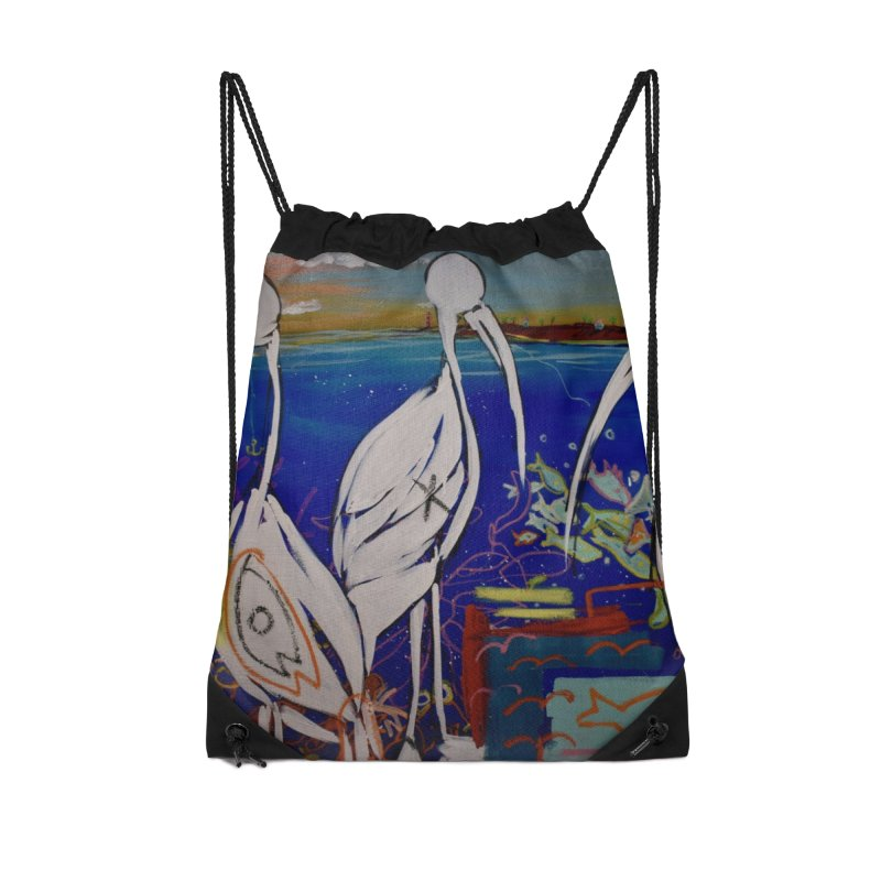 Edna, Mary and Grace. Accessories Drawstring Bag Bag by stobo's Artist Shop