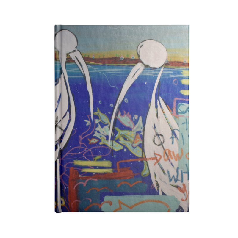 Edna, Mary and Grace. Accessories Lined Journal Notebook by stobo's Artist Shop