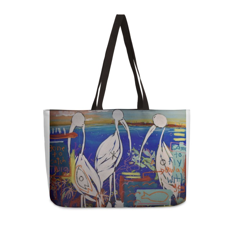 Edna, Mary and Grace. Accessories Weekender Bag Bag by stobo's Artist Shop