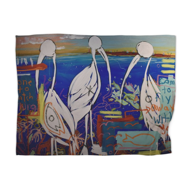 Edna, Mary and Grace. Home Blanket by stobo's Artist Shop