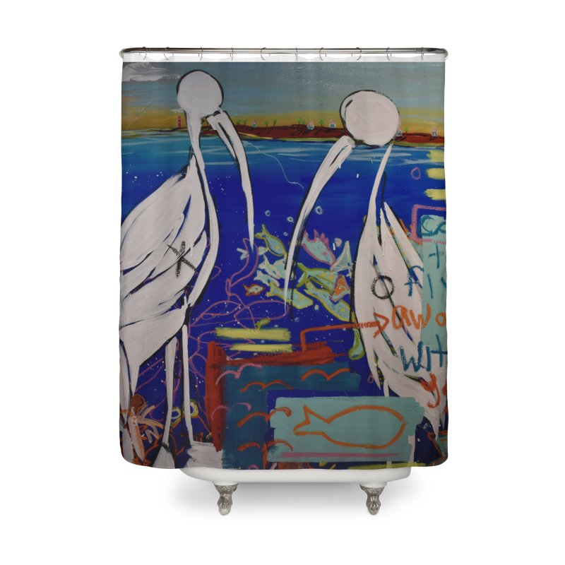Edna, Mary and Grace. Home Shower Curtain by stobo's Artist Shop