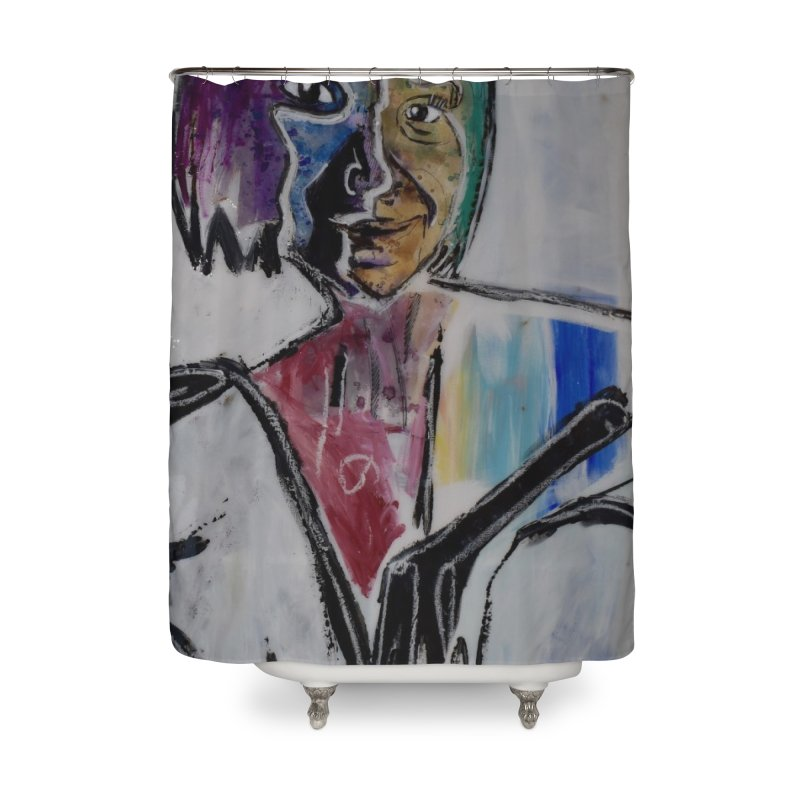 your best Home Shower Curtain by stobo's Artist Shop
