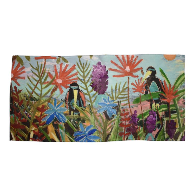 bff's forever Accessories Beach Towel by stobo's Artist Shop