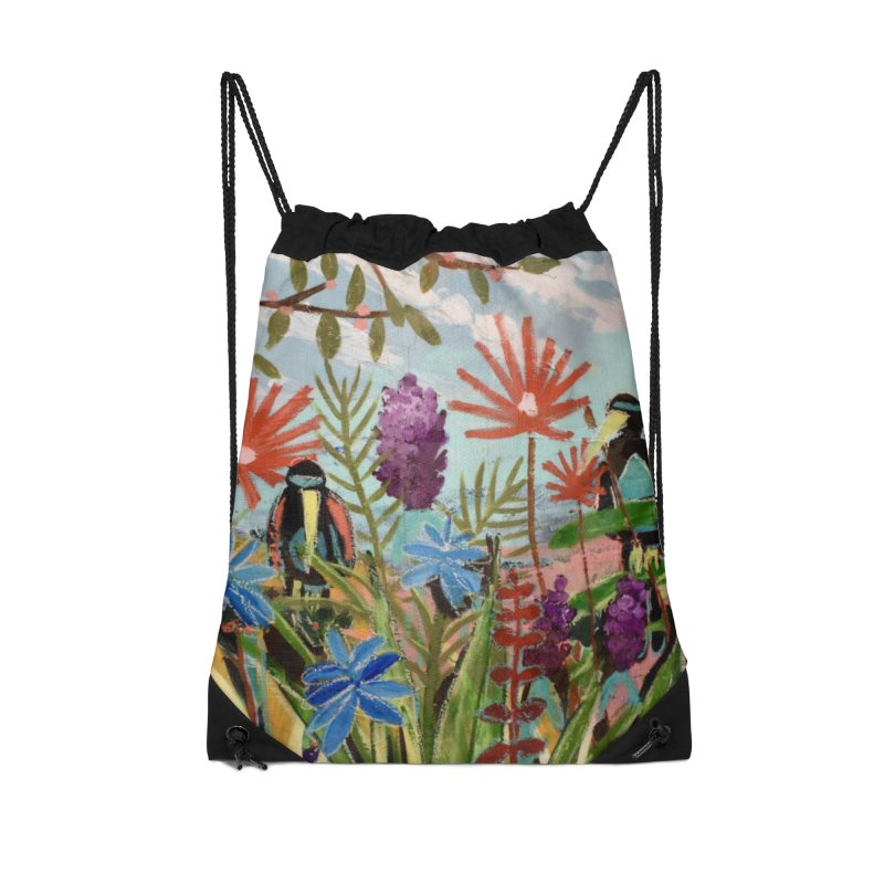 bff's forever Accessories Drawstring Bag Bag by stobo's Artist Shop