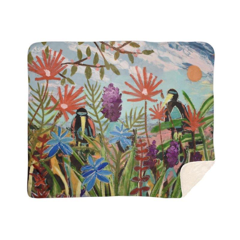 bff's forever Home Sherpa Blanket Blanket by stobo's Artist Shop