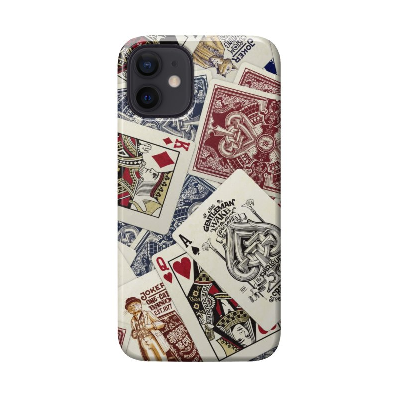Parlour cards pattern Accessories Phone Case by stockholm17's Artist Shop