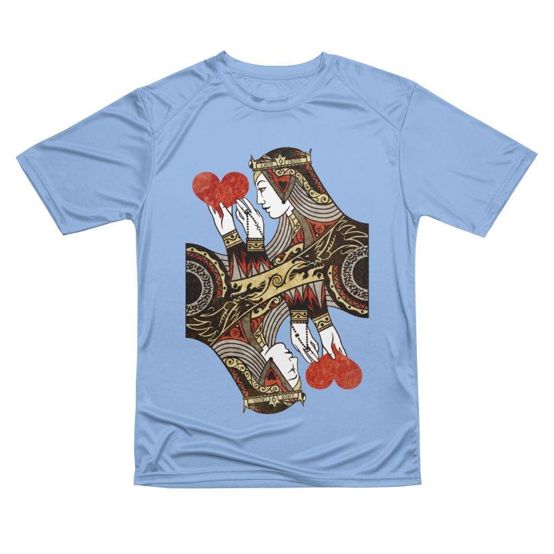 Gemini Queen of Hearts Women's T-Shirt by stockholm17's Artist Shop