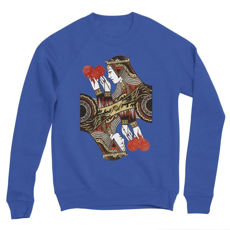 Gemini Queen of Hearts Men's Sweatshirt by stockholm17's Artist Shop