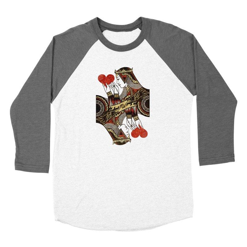 Gemini Queen of Hearts Women's Longsleeve T-Shirt by stockholm17's Apparel Shop