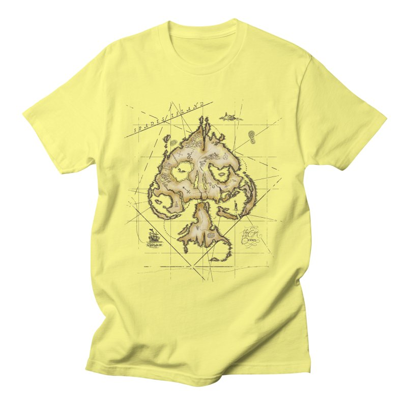 Spades Island Men's T-Shirt by stockholm17's Artist Shop