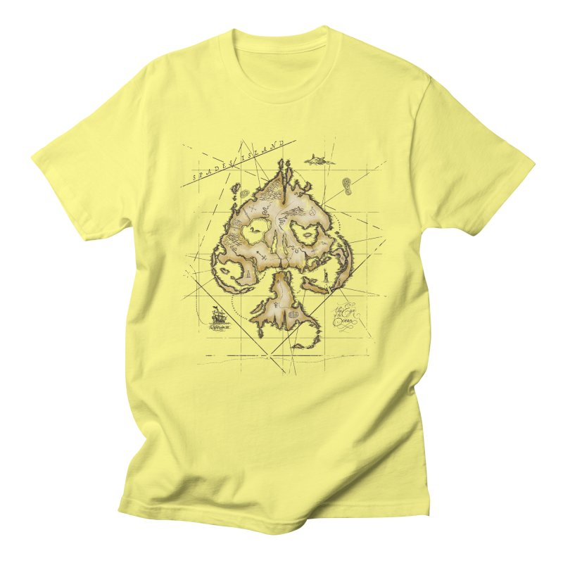 Spades Island Men's T-Shirt by stockholm17's Artist Shop