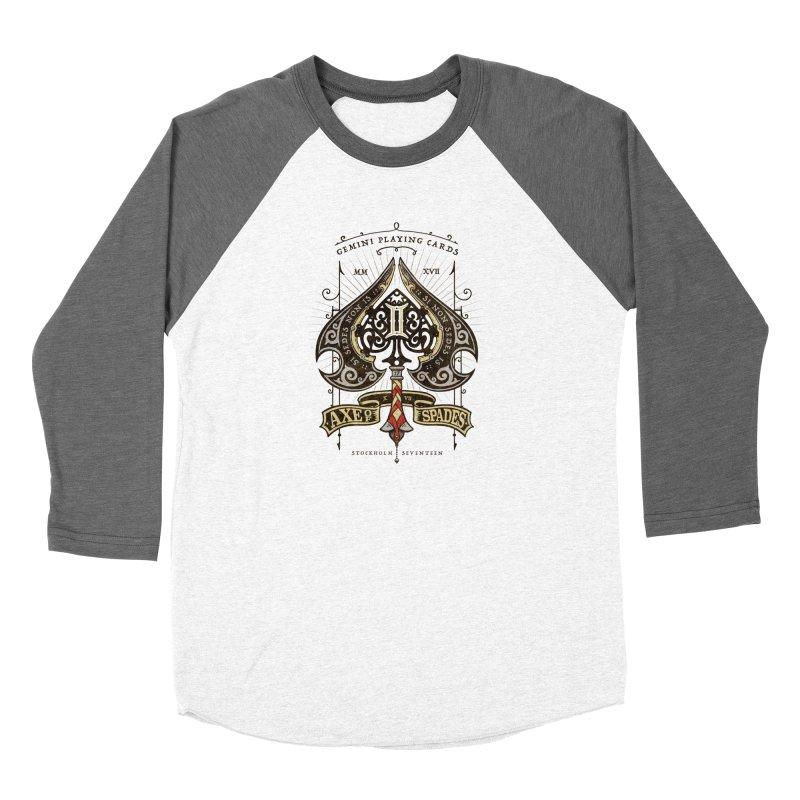 Gemini Axe of Spades Women's Longsleeve T-Shirt by stockholm17's Apparel Shop