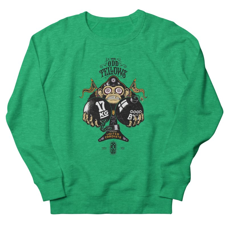 Odd Fellows - Monkey Business Ace of Spades Women's Sweatshirt by stockholm17's Artist Shop