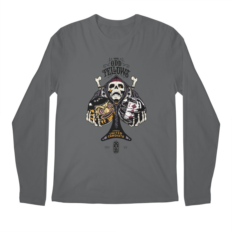 Odd Fellows - Uncle Tibia Ace of Spades Men's Longsleeve T-Shirt by stockholm17's Artist Shop