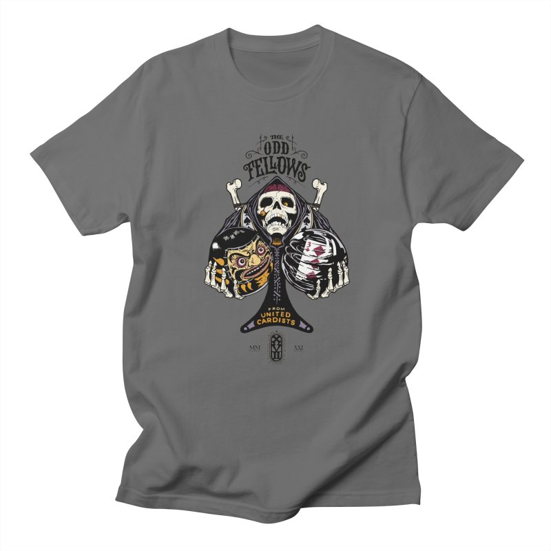 Odd Fellows - Uncle Tibia Ace of Spades Men's T-Shirt by stockholm17's Artist Shop
