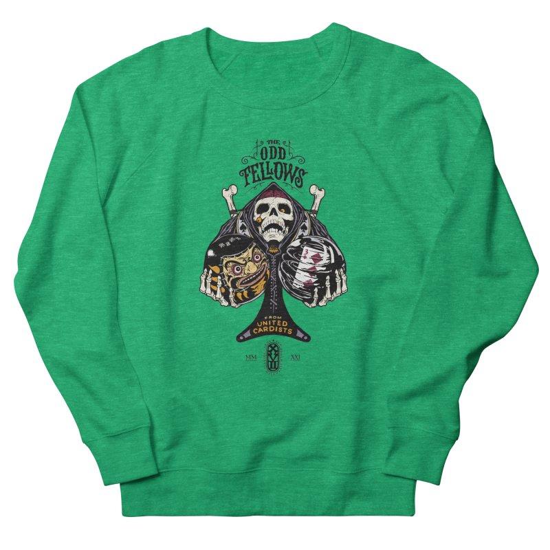 Odd Fellows - Uncle Tibia Ace of Spades Women's Sweatshirt by stockholm17's Artist Shop