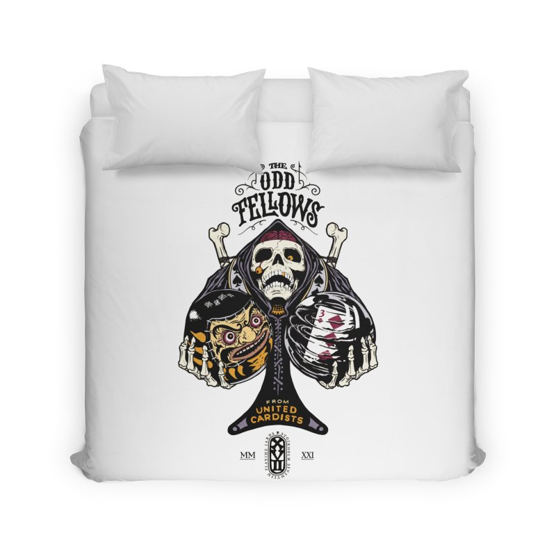 Odd Fellows - Uncle Tibia Ace of Spades Home Duvet by stockholm17's Artist Shop