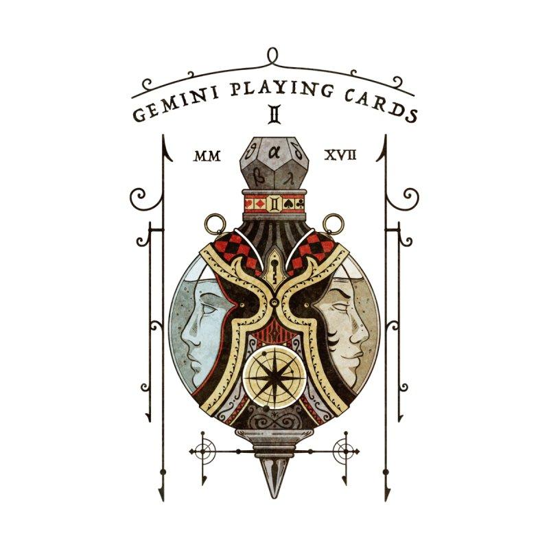 Gemini Playing Cards - Joker Elixir Women's Longsleeve T-Shirt by stockholm17's Apparel Shop