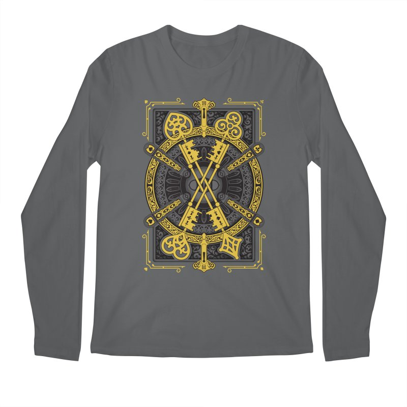 The House of the Rising Spade - Back Design Men's Longsleeve T-Shirt by stockholm17's Artist Shop
