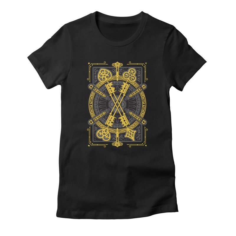 The House of the Rising Spade - Back Design Women's T-Shirt by stockholm17's Artist Shop