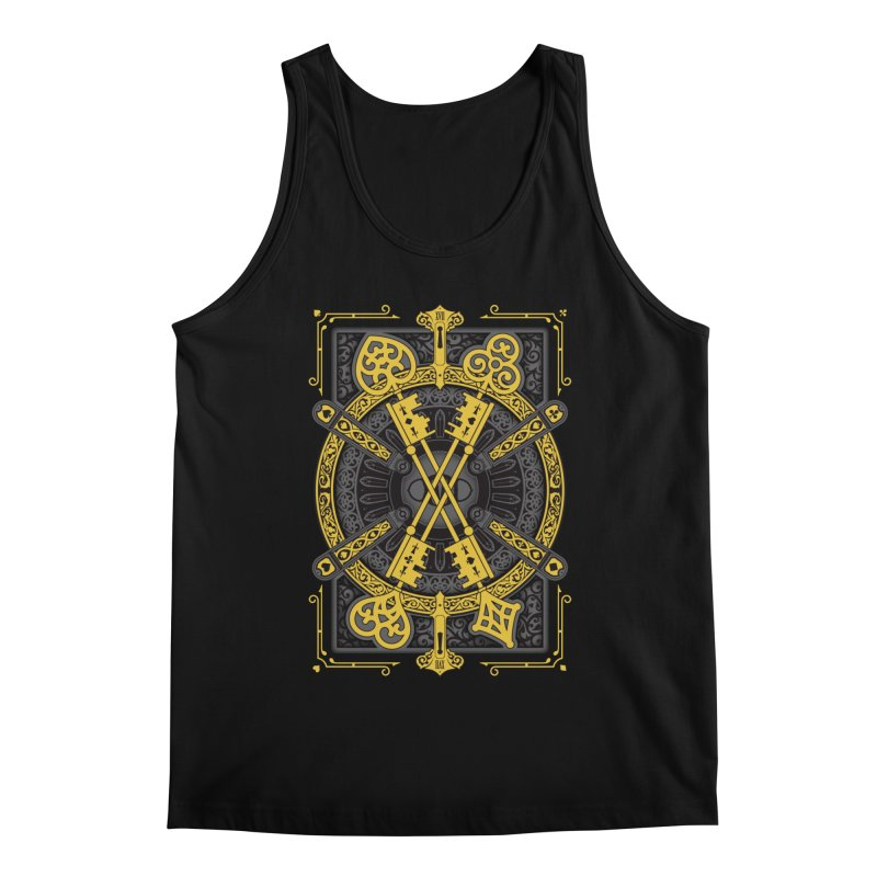The House of the Rising Spade - Back Design Men's Tank by stockholm17's Artist Shop