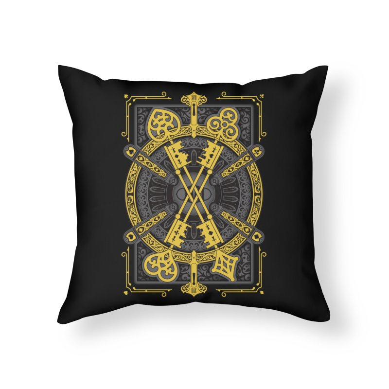 The House of the Rising Spade - Back Design Home Throw Pillow by stockholm17's Artist Shop