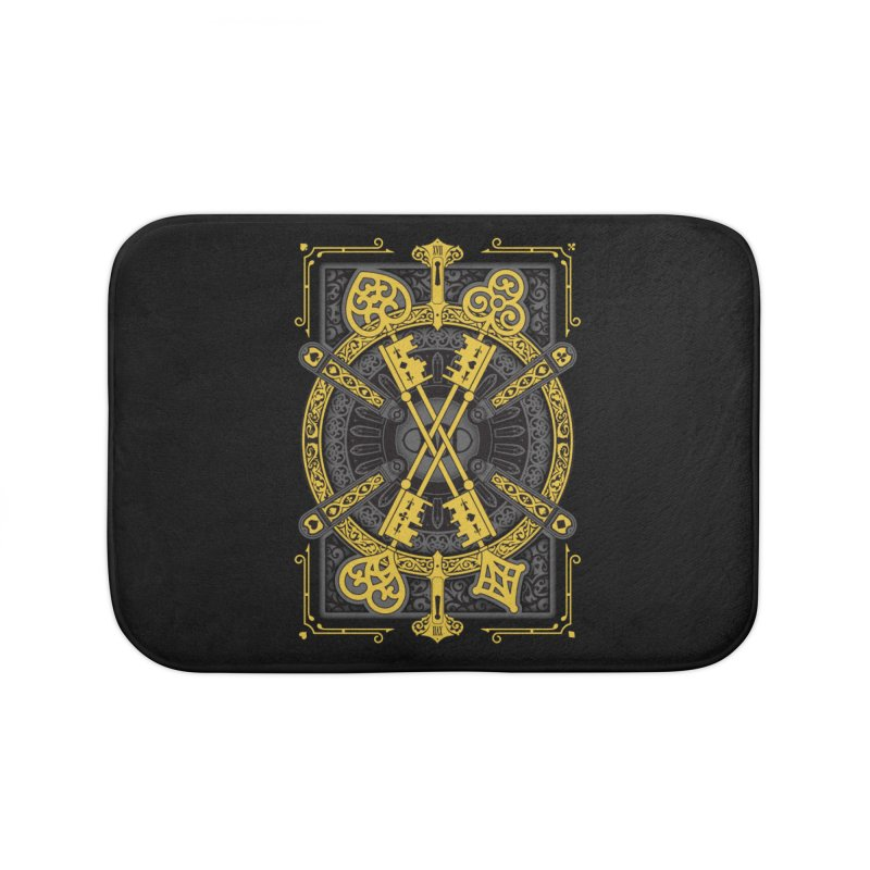 The House of the Rising Spade - Back Design Home Bath Mat by stockholm17's Artist Shop