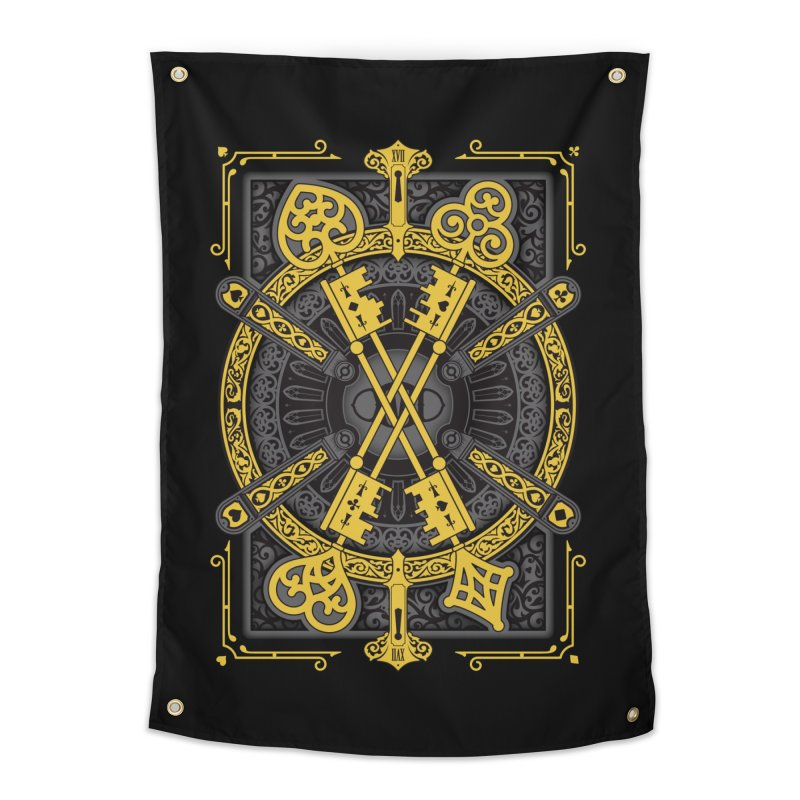The House of the Rising Spade - Back Design Home Tapestry by stockholm17's Artist Shop
