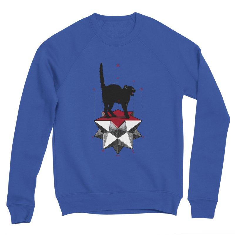 Ravn Joker Cat Men's Sweatshirt by stockholm17's Artist Shop