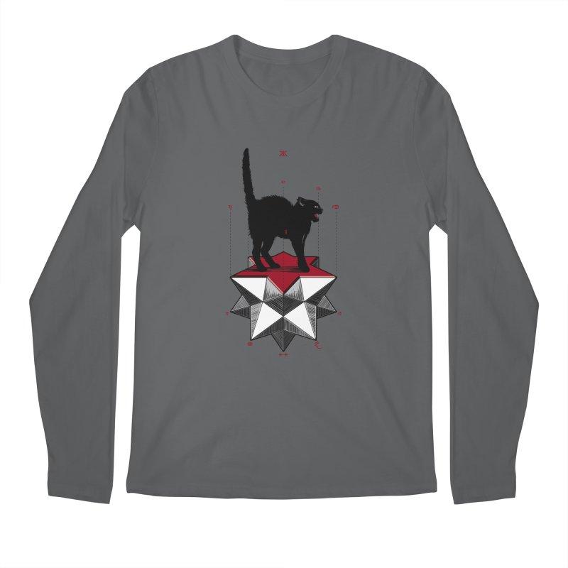 Ravn Joker Cat Men's Longsleeve T-Shirt by stockholm17's Artist Shop