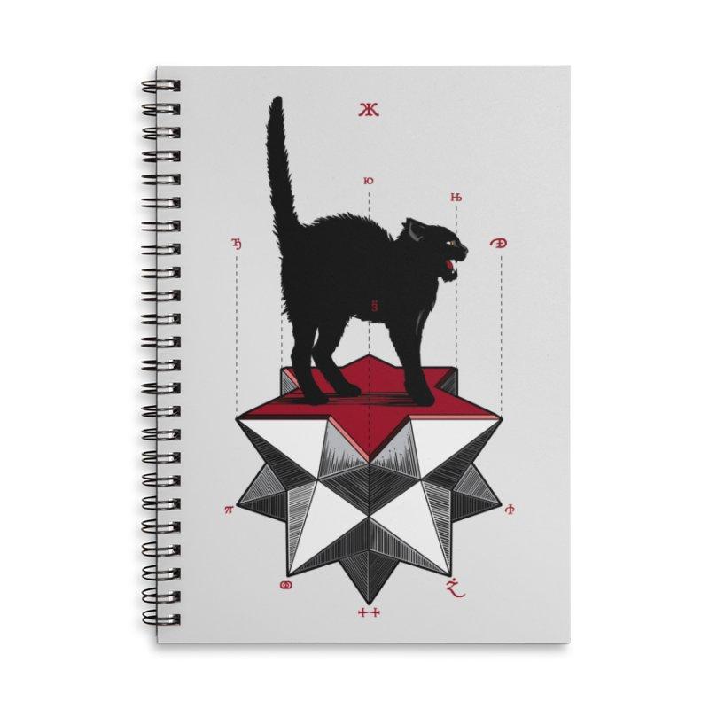 Ravn Joker Cat Accessories Notebook by stockholm17's Artist Shop