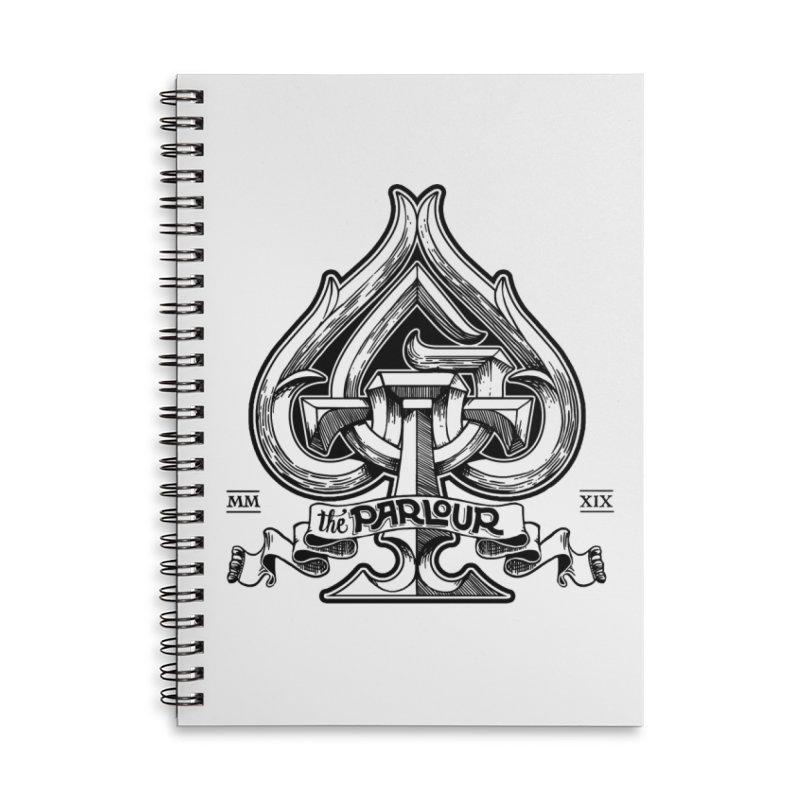 TGW monogram v2 Accessories Notebook by stockholm17's Artist Shop