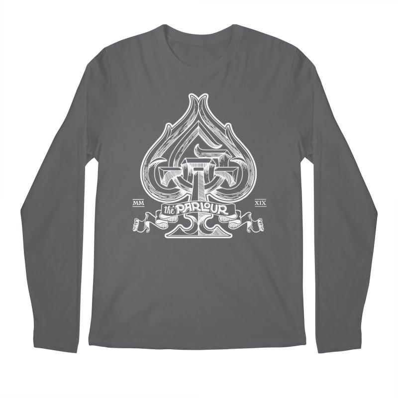 TGW monogram v2 in white Men's Longsleeve T-Shirt by stockholm17's Artist Shop