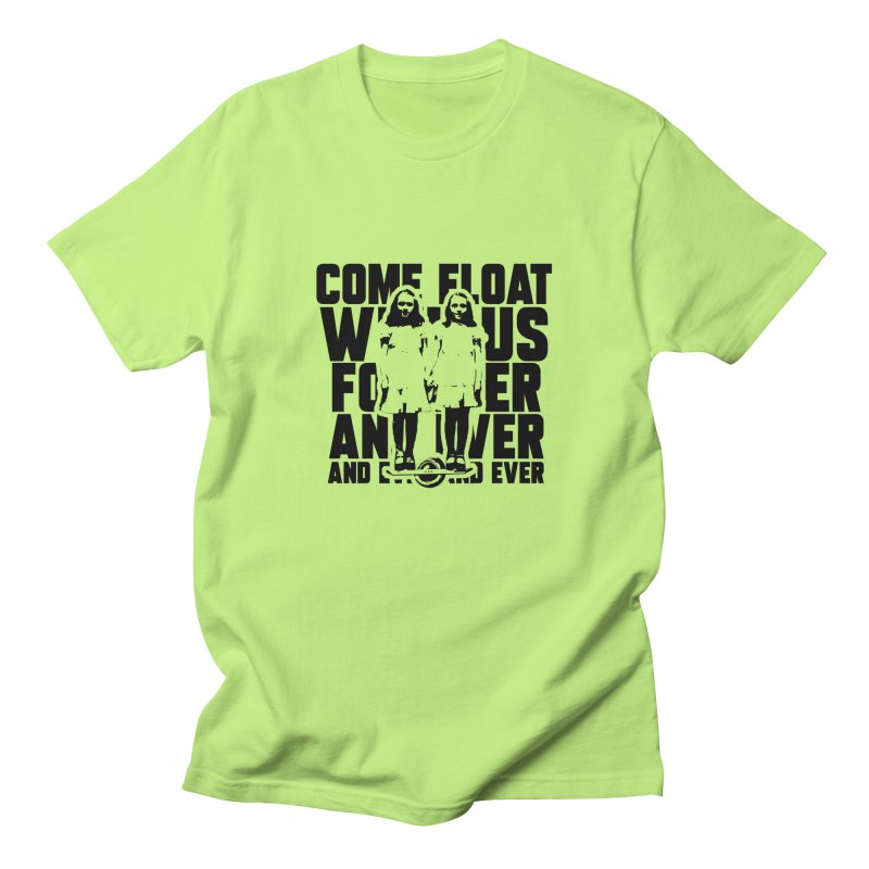 Come Float With Us - Black Men's T-Shirt by Stoke Butter - Spread the Stoke