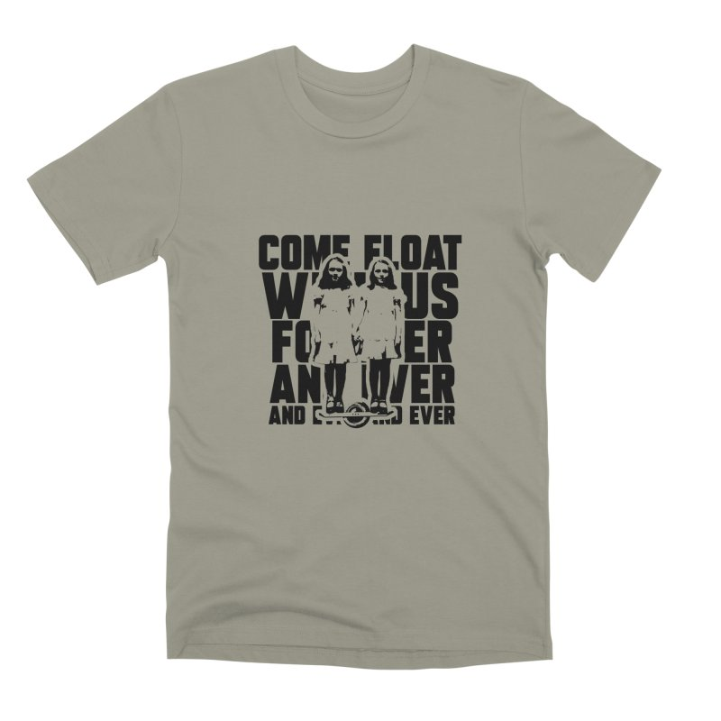 Come Float With Us - Black Men's Premium T-Shirt by Stoke Butter - Spread the Stoke
